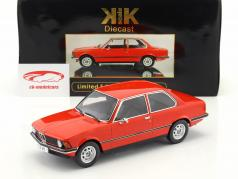 BMW 318i E21 Year 1975 red metallic 1:18 KK-Scale