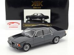 BMW 733i E23 Baujahr 1977 schwarz metallic 1:18 KK-Scale