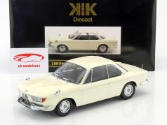 BMW 2000 CS Coupe Baujahr 1965 creme weiß 1:18 KK-Scale