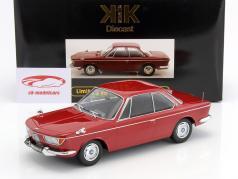BMW 2000 CS Coupe Baujahr 1965 dunkelrot 1:18 KK-Scale