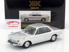 BMW 2000 CS Coupe Baujahr 1965 silber 1:18 KK-Scale