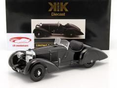 Mercedes-Benz SSK Count Trossi Der schwarze Prinz Baujahr 1930 schwarz 1:18 KK-Scale