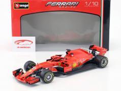 Sebastian Vettel Ferrari SF71H #5 fórmula 1 2018 1:18 Bburago