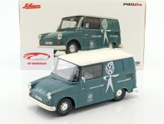 Volkswagen VW Fridolin VW-Kundendienst ライトブルー / 白 1:18 Schuco