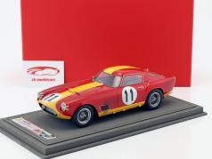 Ferrari 250 TDF #11 Klassensieger 24h LeMans 1959 Dirty Version mit Vitrine 1:18 BBR