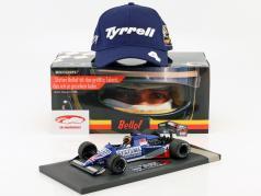 S. Bellof Tyrrell 012 #4 GP Zandvoort formula 1 1984 con berretto 1:18 Minichamps