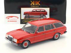 Mercedes-Benz 250T W123 Kombi Baujahr 1978-82 rot metallic 1:18 KK-Scale