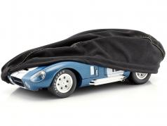 Car cover black for modelcars in scale 1:18