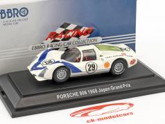 Porsche 906 #29 7e Japan GP 1968 Hiroshi Katahira 1:43 Ebbro