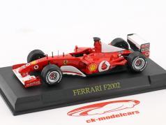 Michael Schumacher Ferrari F2002 #1 formula 1 World Champion 2002 1:43 Altaya