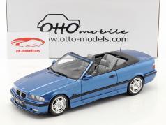 BMW M3 (E36) Cabriolet Bouwjaar 1995 estoril blauw 1:18 OttOmobile