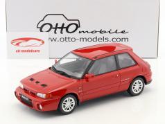 Mazda 323 GT-R Bouwjaar 1992 rood 1:18 OttOmobile