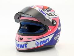 Sergio Perez Force India VJM11 #11 formule 1 2018 1:2 Schuberth