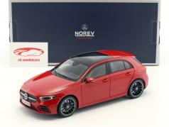 Mercedes-Benz A-Class (W177) year 2018 red 1:18 Norev