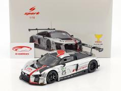 Audi R8 LMS #25 gagnant 24h Spa 2017 Gounon, Winkelhock, Haase 1:18 Spark