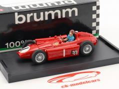 Juan Manuel Fangio Ferrari D50 #1 vincitore britannico GP campione del mondo formula 1956 1:43 Brumm