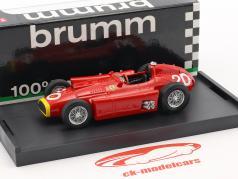 Juan Manuel Fangio Ferrari D50 #20 vencedor monaco GP campeão do mundo fórmula 1 1956 1:43 Brumm