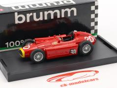 Juan Manuel Fangio Ferrari D50 #20 winnaar Monaco GP wereldkampioen formule 1 1956 1:43 Brumm