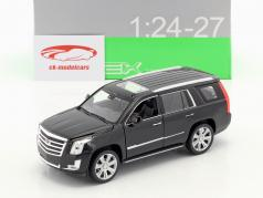 Cadillac Escalade Baujahr 2017 schwarz 1:24 Welly