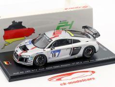 Audi R8 LMS GT4 #18 3e SP-X klasse 24h Nürburgring 2017 Audi Sport Team Phoenix 1:43 Spark