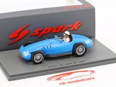 Jean Lucas Gordini T32 #24 italiensk GP formel 1 1955 1:43 Spark