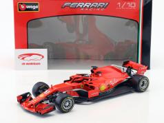 Kimi Räikkönen Ferrari SF71H #7 fórmula 1 2018 1:18 Bburago