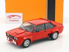 Fiat 131 Abarth Bouwjaar 1980 rood 1:18 Ixo