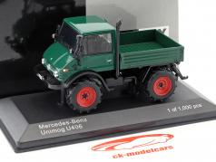 Mercedes-Benz Unimog U406 dark green 1:43 WhiteBox