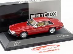 Jaguar XJ-S year 1982 red 1:43 WhiteBox