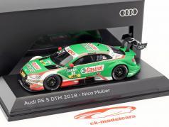 Audi RS 5 #51 DTM 2018 Nico Müller 1:43 Spark