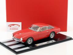 Ferrari 250 Lusso pluie version année de construction 1963 rouge avec vitrine 1:18 BBR