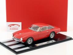 Ferrari 250 Lusso Rain version year 1963 red With Showcase 1:18 BBR