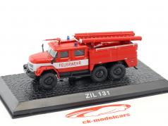 ZIL 131 bombeiros vermelho 1:72 Altaya