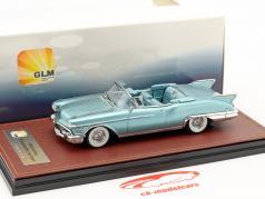 Cadillac Eldorado Biarritz Open Top year 1958 light blue metallic 1:43 GLM