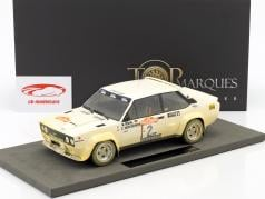 Fiat 131 Abarth Dirty Version #2 Winner Rallye SanRemo 1980 Röhrl, Geistdörfer 1:18 TopMarques