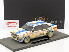 Fiat 131 Abarth Dirty Version #1 Winner Rallye 1000 Lakes 1980 Alen, Kivimäki 1:18 TopMarques