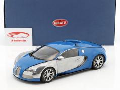 Bugatti Veyron EB 16.4 Year 2009 blue / chrome 1:18 AUTOart