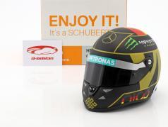 N. Rosberg Mercedes F1 W05 Formel 1 2014 Helm 4. Stern Edt. 1:2 Schuberth