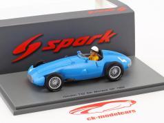 Andre Pilette Gordini T32 #4 6th Monaco GP formel 1 1956 1:43 Spark