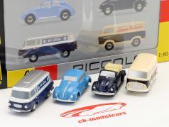 4-Car Geschenk-Set B 1:90 Schuco Piccolo