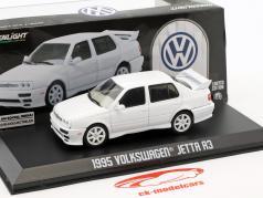 Volkswagen VW Jetta A3 Opførselsår 1995 hvid 1:43 Greenlight