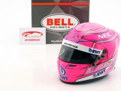 Esteban Ocon Force India VJM11 #31 formule 1 2018 casque 1:2 Bell