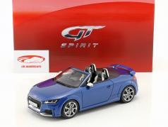 Audi TT RS Roadster ano de construção 2016 sepang azul 1:18 GT-Spirit