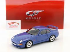 Porsche 968 Turbo S coupe ano de construção 1993 marítimo azul 1:18 GT-Spirit