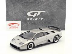 Lamborghini Diablo GT ano de construção 1999 titânio metálico 1:18 GT-Spirit