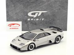 Lamborghini Diablo GT Bouwjaar 1999 titanium metalen 1:18 GT-Spirit