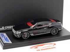 Bentley New Continental GT jaar 2018 zwart metalen 1:43 LookSmart