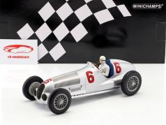 R. Caracciola Mercedes-Benz W125 #6 2nd Nürburgring 1937 1:18 Minichamps