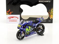 Valentino Rossi Yamaha YZR-M1 #46 MotoGP 2017 1:12 Minichamps