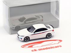 BMW M2 Presentation Car 2016 blanc 1:87 Minichamps